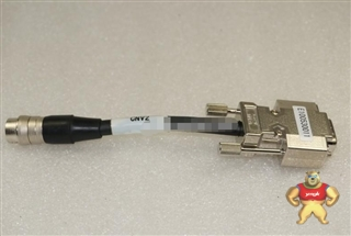 进口工业相机数据连接线 卡口12针转RS232串口 转接接头