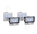高精度85C17-A指针安装式DC直角90℃电流测量仪表40A/75mV