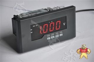 高精度测量JD195U-4K12J上下限报警直流电压数显电力测试仪型号含义