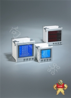 升级版SH194E-9S41B带变送交流全电量LED电力仪表3000/5A