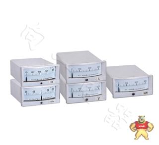 低压配电用46D1指针式直角单相功率电力仪表400/5A 6/0.1KV