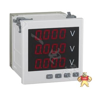 成套配电柜用PD194U-AK4高精度2J上下限报警电压电力测试仪500uV