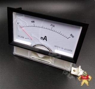 质保一年59L19-A指针安装式圆形开孔90℃电流测量仪表2A