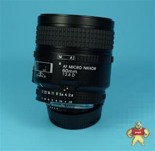 尼康 AF60/2.8D 全画幅 定焦 自动微距镜头 F口 工业镜头 4004311