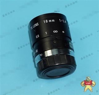 PENTAX C1614-M 16MM 1:1.4 百万像素CCTV定焦镜头 2/3 C口