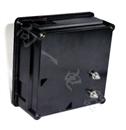 厂家直销1T1指针安装式方形尺寸九十度电压计100V