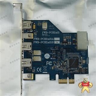 IOI FWB-PCIE1X21 1394B 图像采集卡 可充新 最新到货
