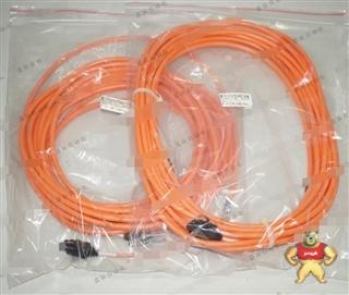 原装全新无包装 三菱 光缆 光纤 橙色护套 M-2P-10M-B 10米