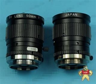 U-TRON MV5018 TV LENS 50MM 1:1.8 2/3 定焦工业镜头 可以充新