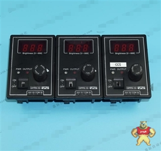 日本OPTEX OPPD-15 LED光源控制器 带数显 体积超小 DC12V 议价