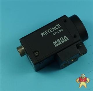 KEYENCE CV-025M 200万像素黑白CCD工业相机 8成新