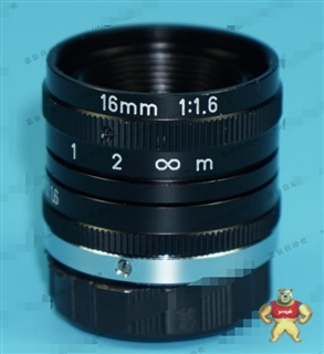 日本进口 16MM 1:1.6  CCTV定焦工业镜头