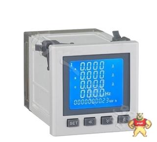 电力仪表厂家SH194P-2K12J上下限报警瓦特数显电力测试仪维修