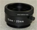 进口工业相机调焦筒 15-20mm可调节 M25 C口