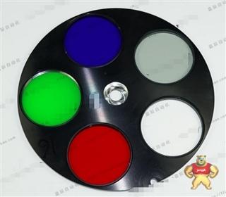 全画幅工业 天文CCD相机滤光轮 RGB高品质五色滤镜片 DIY精品