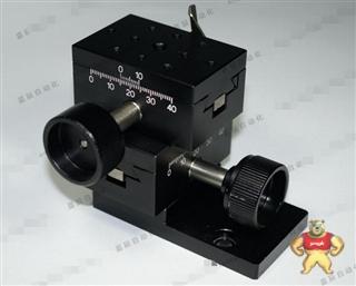 [二手]进口工业相机调整台 XY燕尾槽滑台 可锁止 带刻度