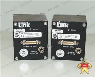 二手DALSA S3-20-02K40-00-R 黑白线阵工业数字相机 自带C口接环
