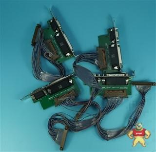 Matrox Y7120-00 Camera link 图像采集卡IO板 带排线 原装