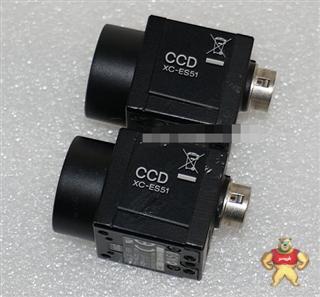 """Sony/索尼 XC-ES51 1/2"""" CCD 隔行扫描黑白工业相机"""