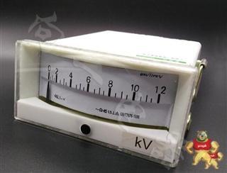 高精度46L1-V指针安装式方形开孔90℃伏特测量仪表型号说明