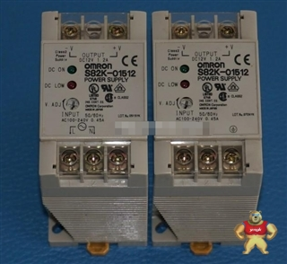 欧姆龙S82K-01512 DC12V交直流转换电源 原装进口