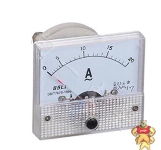 专业仪表85L1-A指针安装式方形尺寸90℃电流测量仪表分类