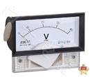 现货供应69L17指针安装式交流直角90℃伏特测量仪表300uV