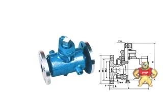 厂家直销BX43W二通保温旋塞阀(图)质量优质低价