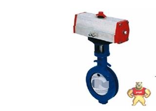 厂家直销对夹式气动软密封蝶阀(图)质量优质低价批发
