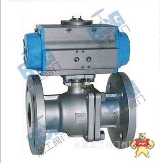 厂家直销Q641F气动法兰球阀质量优质低价批发