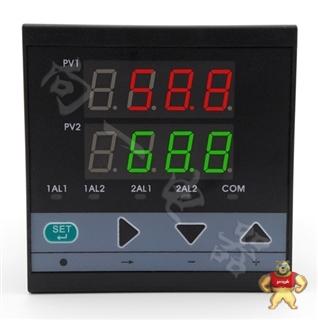 **测量D723两回路数字显示开关量输出压力巡检仪万能输入