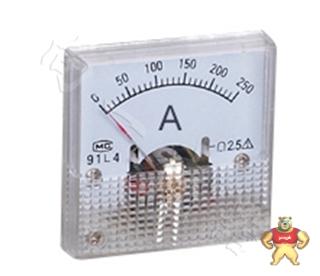 质保一年91L4指针安装式方形外形90℃电流测量仪表1000/5A