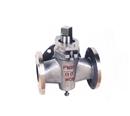 供应X44H三通铸钢旋塞阀(图) 压力表旋塞阀 压力表三通旋塞阀