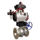 厂家直销RQ641F气动带手动球阀质量优质低价批发