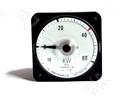 船用设备厂LS80-KW广角度耐震指针船舶有功功率计150/5A