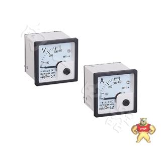 质保一年SF48-V指针安装式方形面板90℃伏特仪器电力仪表45 45