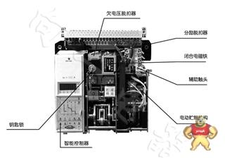 厂价直销DW16-1000/3P三级短路保护抽出式万能式框架断路器品牌