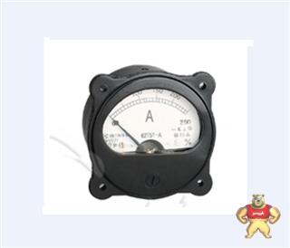 电力仪表厂家65C5-A指针安装式圆形尺寸九十度电流测量仪表600/5A