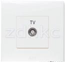 ABB 开关插座 由艺一位电视插座有线TV插座AU30144-WW