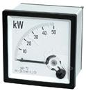 高精度SQ72方形开孔单相瓦特测量表1K/5A 380V