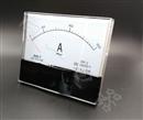 现货供应59L1-A指针安装式方形外形90℃安培测量仪表150mA