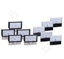 厂价直销44L1-COS指针式方形尺寸九十度**表头0.5-1-0.5