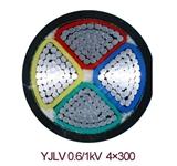 YJLV铝芯电缆3*240+1*120