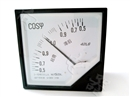 稳定可靠42L6-COSφ指针式直角三相电力仪表112*112