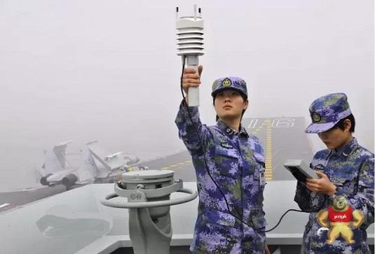 我们的产品上航母了  WXT520在中国海军辽宁号上使用