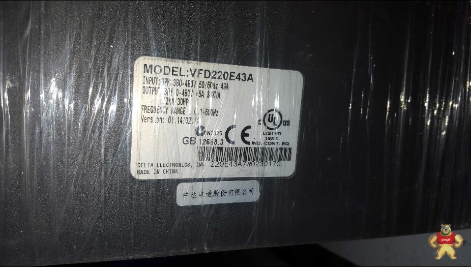 vfd220e43a台达变频器价格