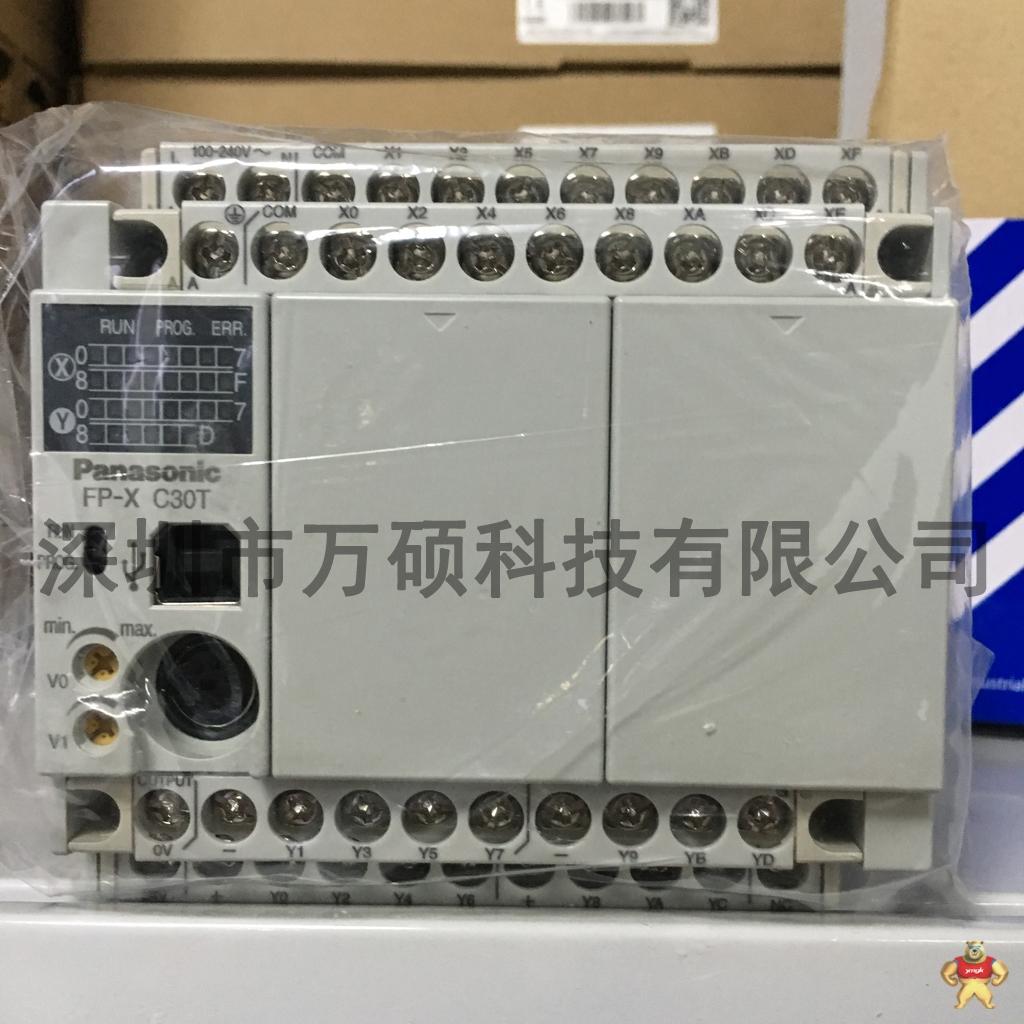 全新原装松下plc fp-xc30t/afpx-c30t 保修1年