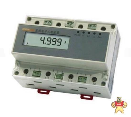 导轨式安装三相四线电子式有功电能表是我
